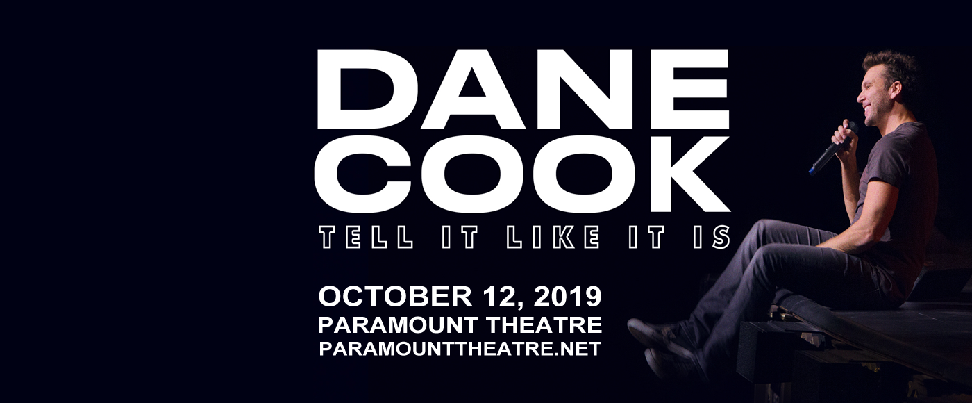 Dane Cook at Paramount Theatre Seattle