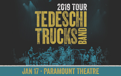Tedeschi Trucks Band at Paramount Theatre Seattle
