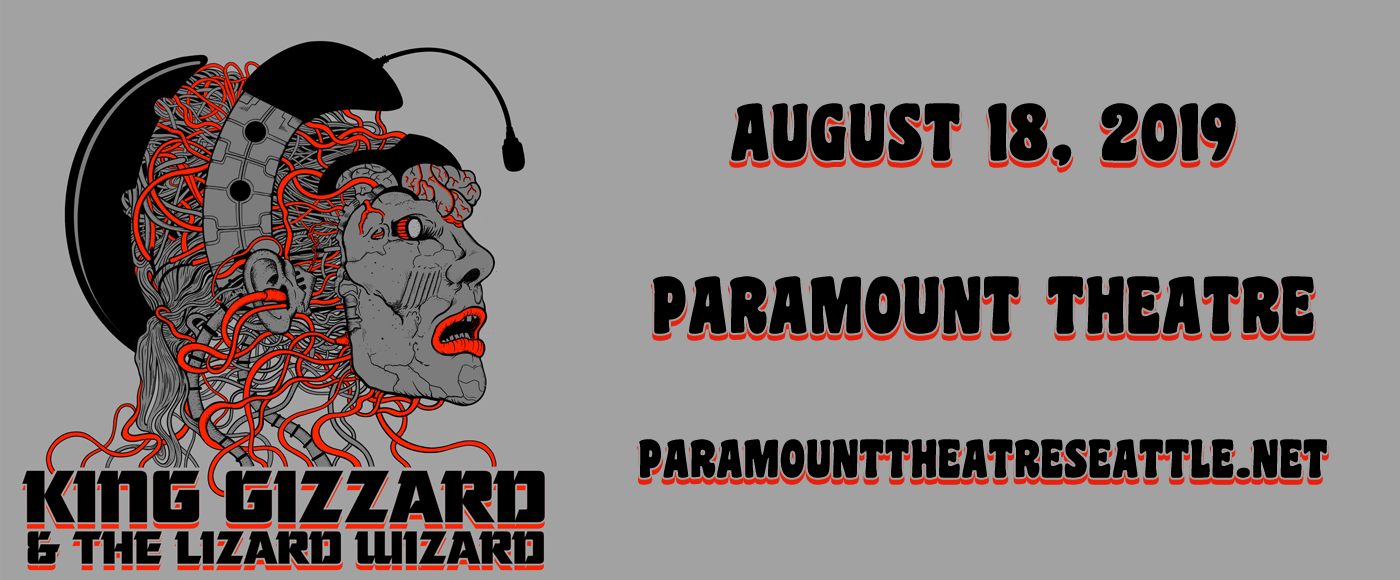 King Gizzard And The Lizard Wizard at Paramount Theatre Seattle