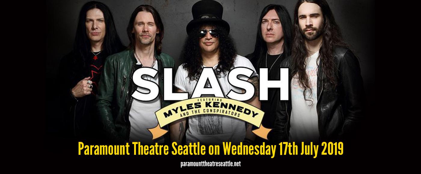Slash at Paramount Theatre Seattle