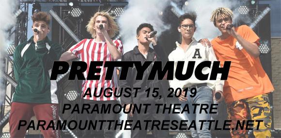 Prettymuch at Paramount Theatre Seattle