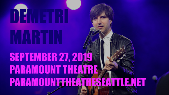 Demetri Martin at Paramount Theatre Seattle