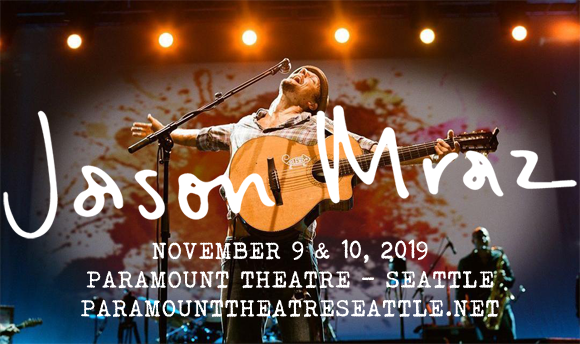Jason Mraz & Raining Jane at Paramount Theatre Seattle