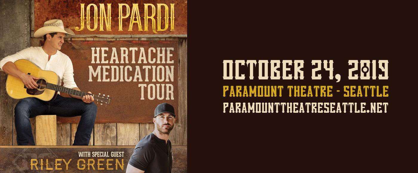 Jon Pardi & Riley Green at Paramount Theatre Seattle