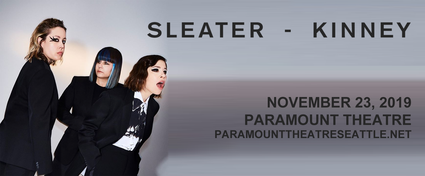 Sleater-Kinney at Paramount Theatre Seattle