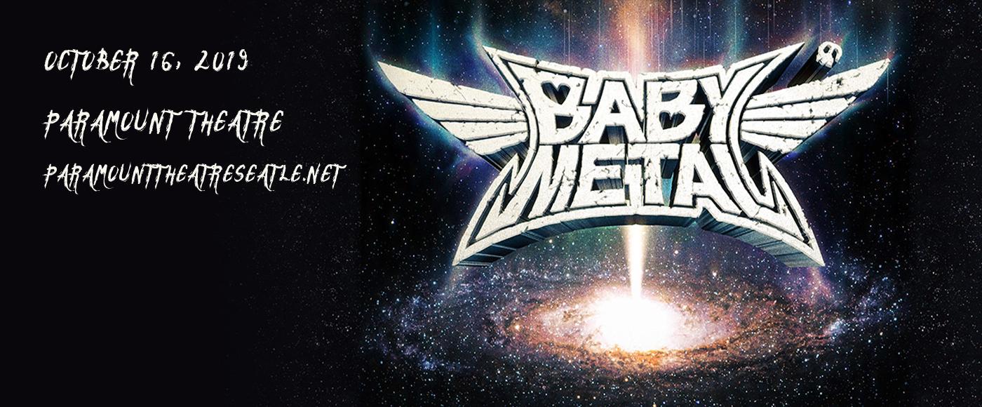 Babymetal at Paramount Theatre Seattle