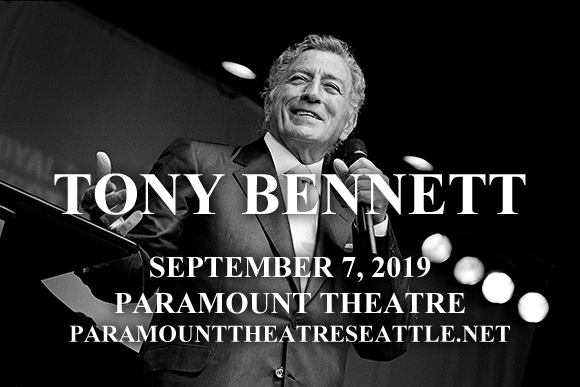 Tony Bennett at Paramount Theatre Seattle