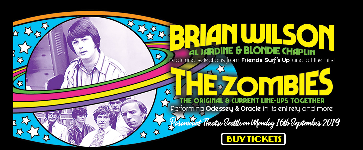 Brian Wilson & The Zombies at Paramount Theatre Seattle