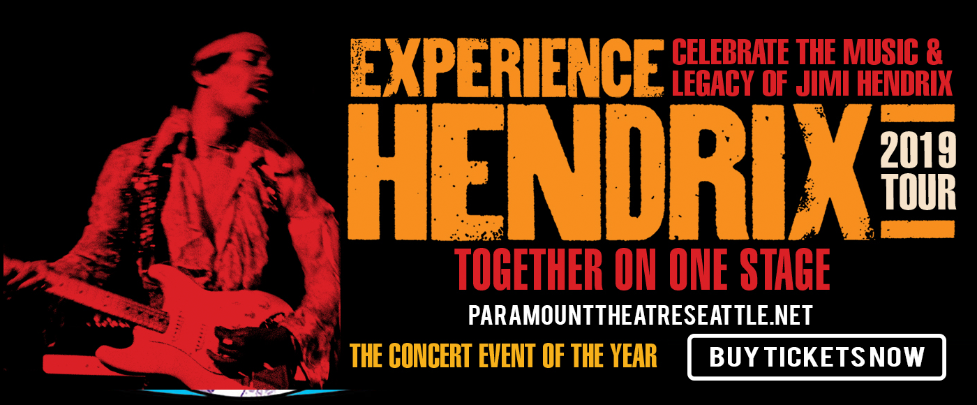 Experience Hendrix at Paramount Theatre Seattle
