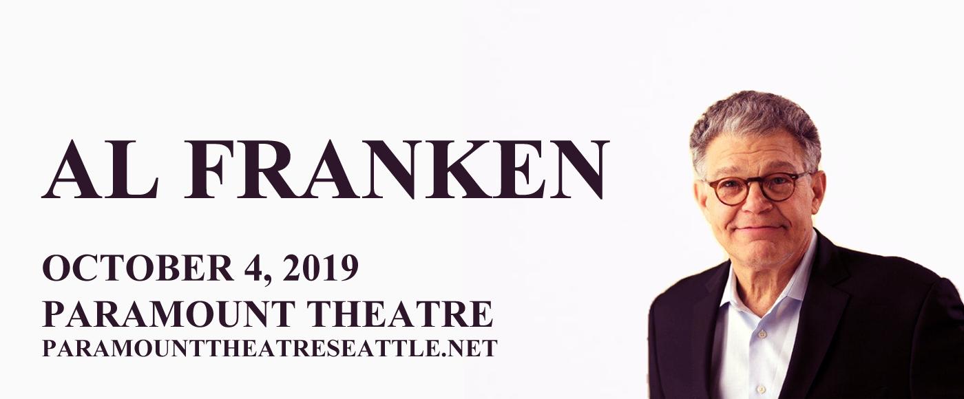 Al Franken at Paramount Theatre Seattle