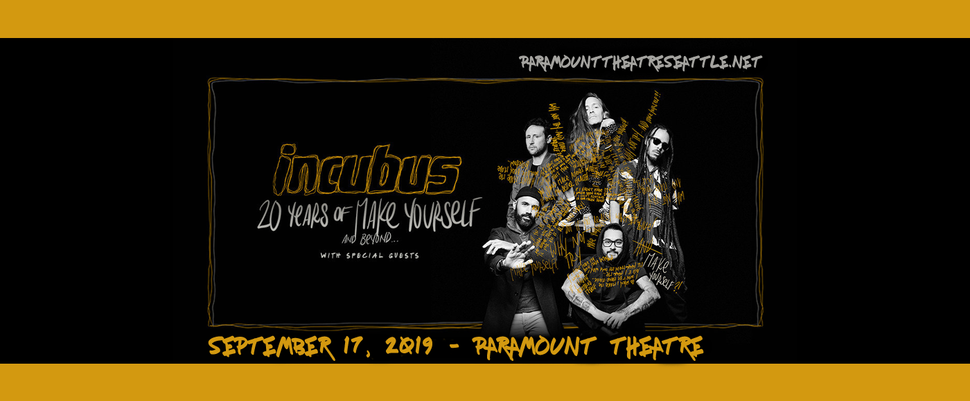 Incubus at Paramount Theatre Seattle