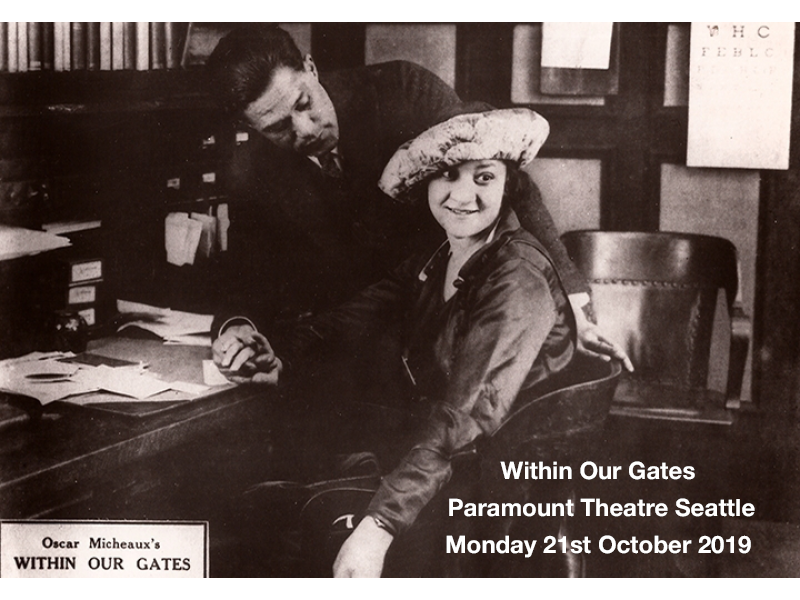 Silent Movie Mondays: Within Our Gates at Paramount Theatre Seattle