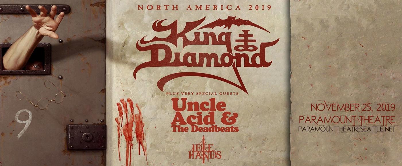 King Diamond at Paramount Theatre Seattle
