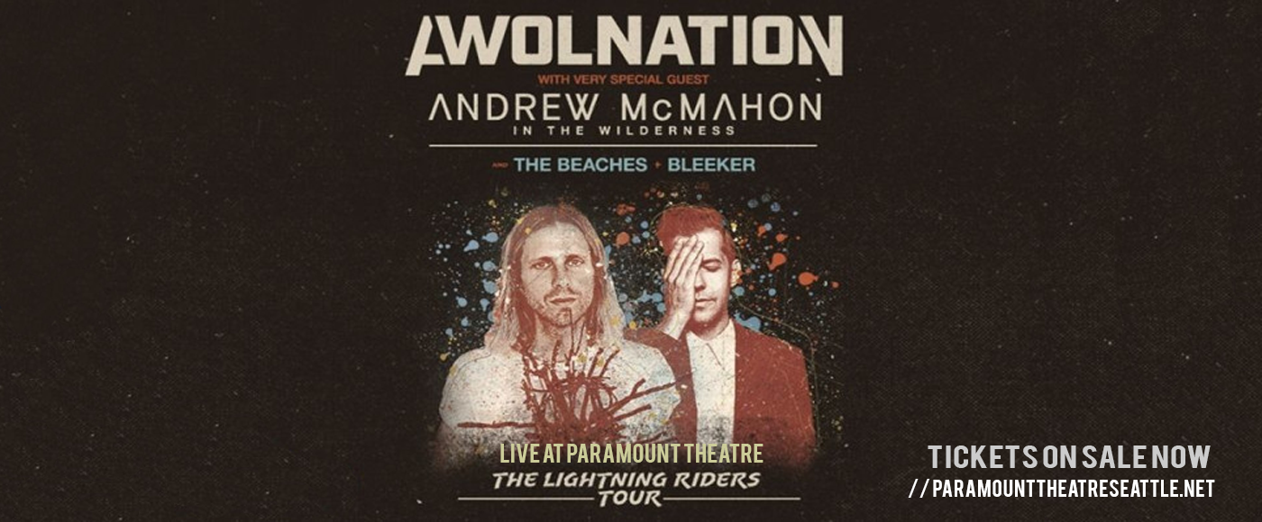 Awolnation & Andrew McMahon at Paramount Theatre Seattle