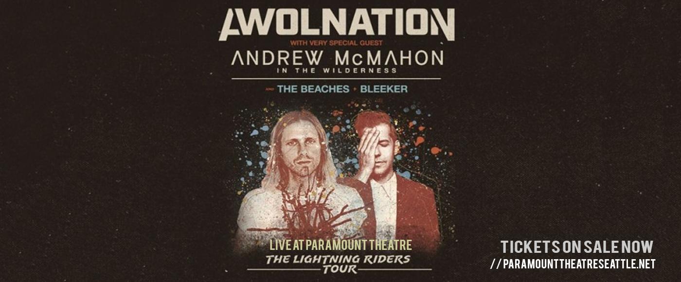 Awolnation & Andrew McMahon at Paramount Theatre Seattle