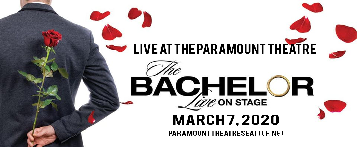 The Bachelor - Live On Stage at Paramount Theatre Seattle