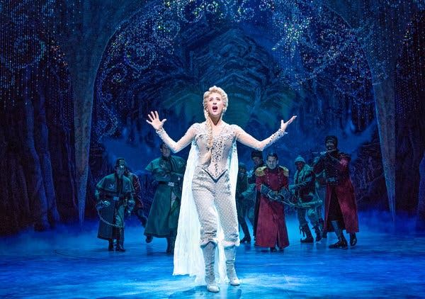 Frozen - The Musical at Paramount Theatre Seattle