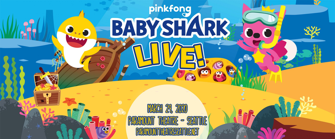 Baby Shark Live! at Paramount Theatre Seattle