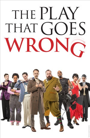 The Play That Goes Wrong  at Paramount Theatre Seattle