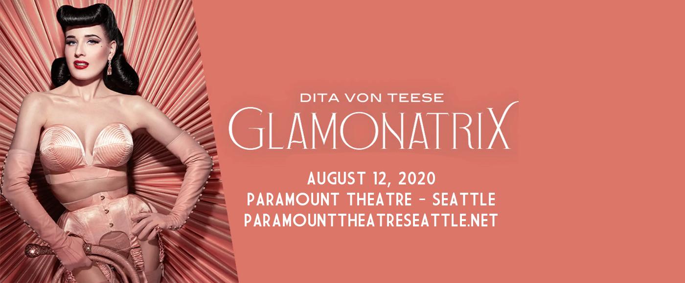 Dita Von Teese at Paramount Theatre Seattle