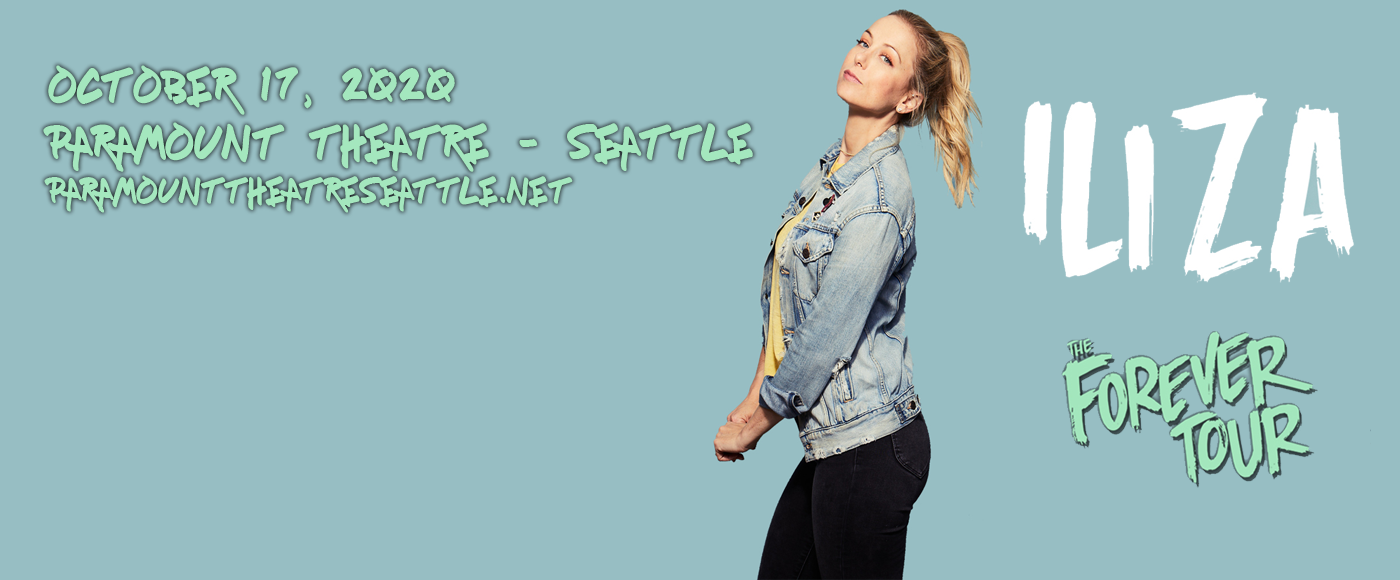Iliza Shlesinger at Paramount Theatre Seattle