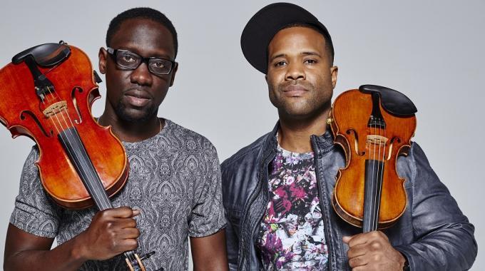 Black Violin Duo at Paramount Theatre Seattle