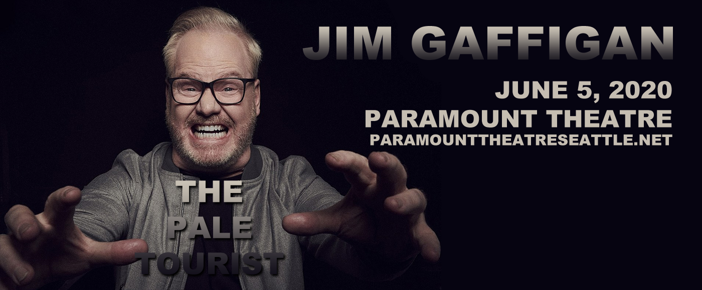 Jim Gaffigan at Paramount Theatre Seattle