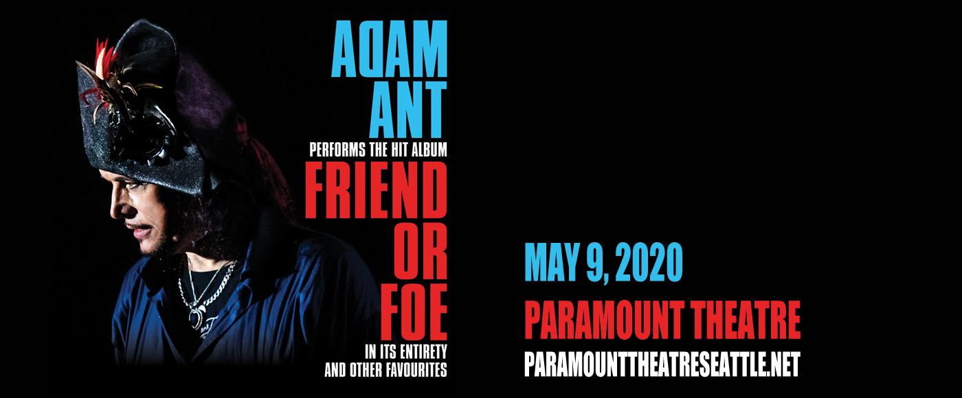 Adam Ant at Paramount Theatre Seattle