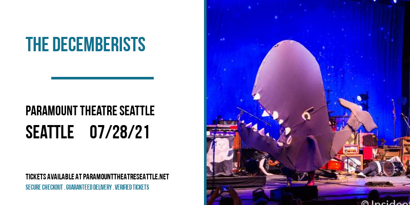 The Decemberists at Paramount Theatre Seattle