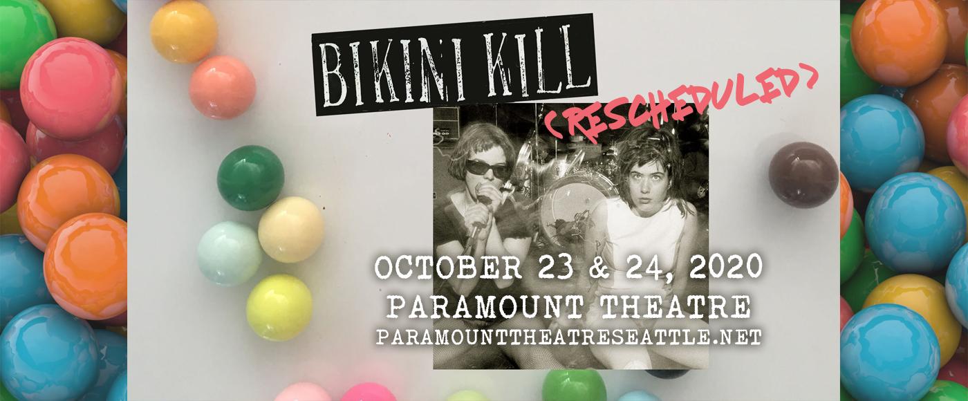 Bikini Kill at Paramount Theatre Seattle