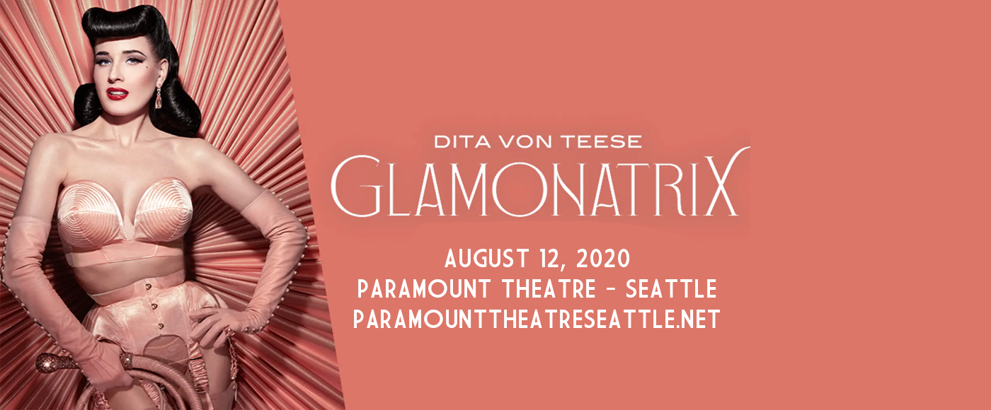 Dita Von Teese [POSTPONED] at Paramount Theatre Seattle