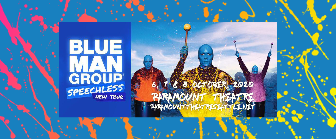 Blue Man Group [CANCELLED] at Paramount Theatre Seattle