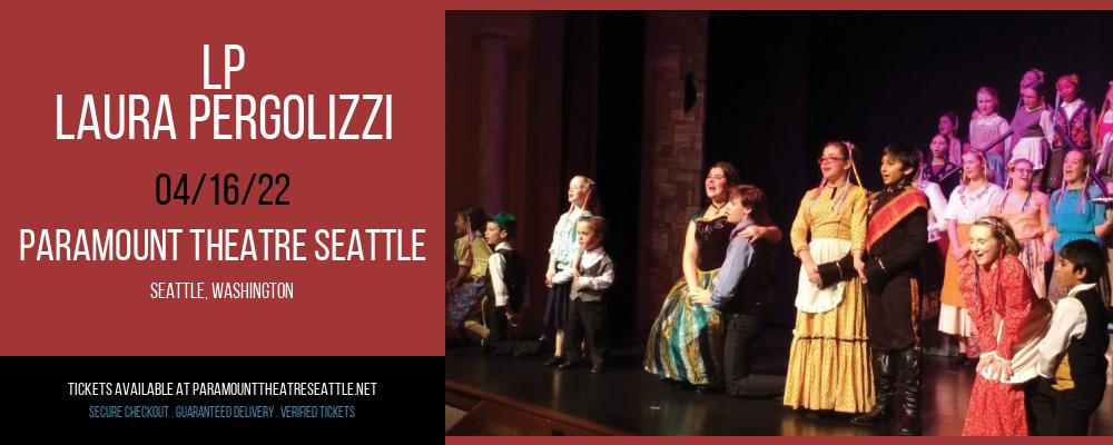 LP - Laura Pergolizzi at Paramount Theatre Seattle