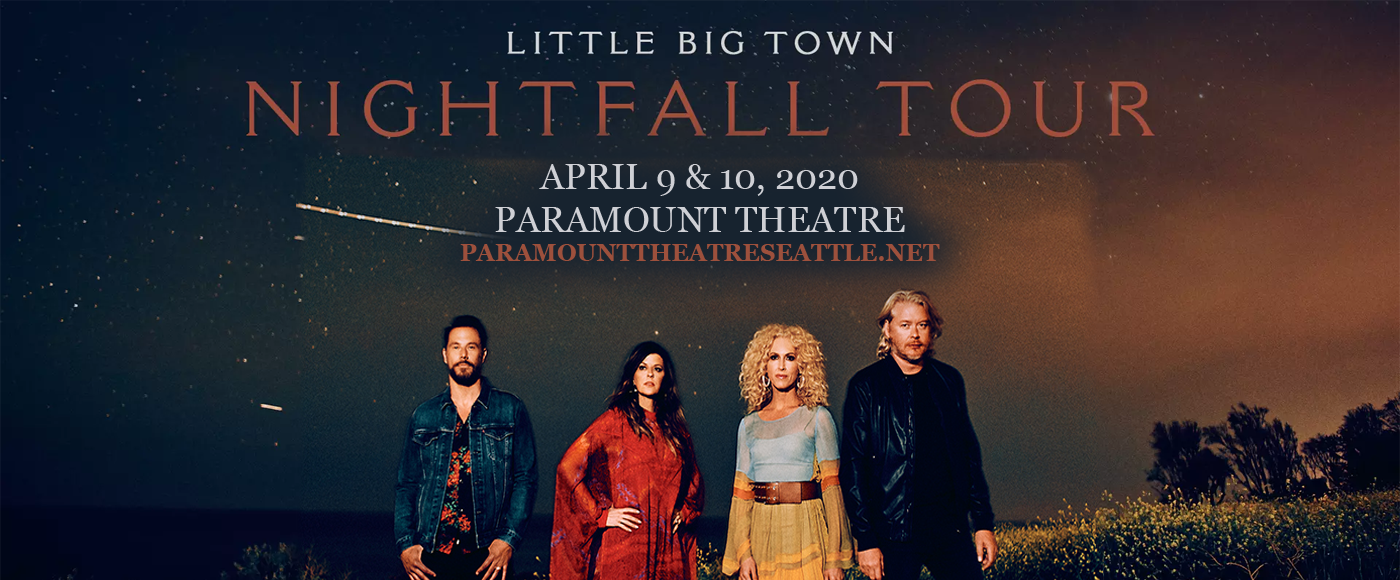 Little Big Town [CANCELLED] at Paramount Theatre Seattle