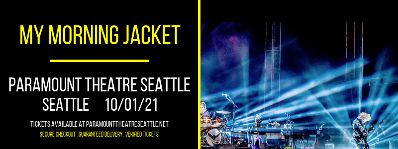 My Morning Jacket at Paramount Theatre Seattle