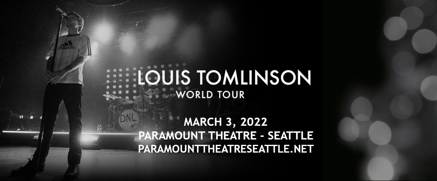 Louis Tomlinson at Paramount Theatre Seattle