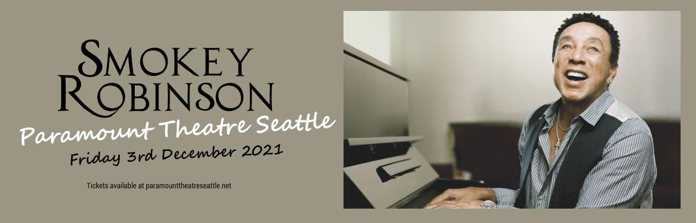 Smokey Robinson at Paramount Theatre Seattle