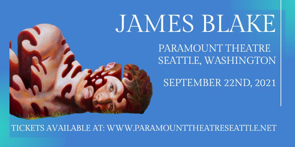 James Blake at Paramount Theatre Seattle