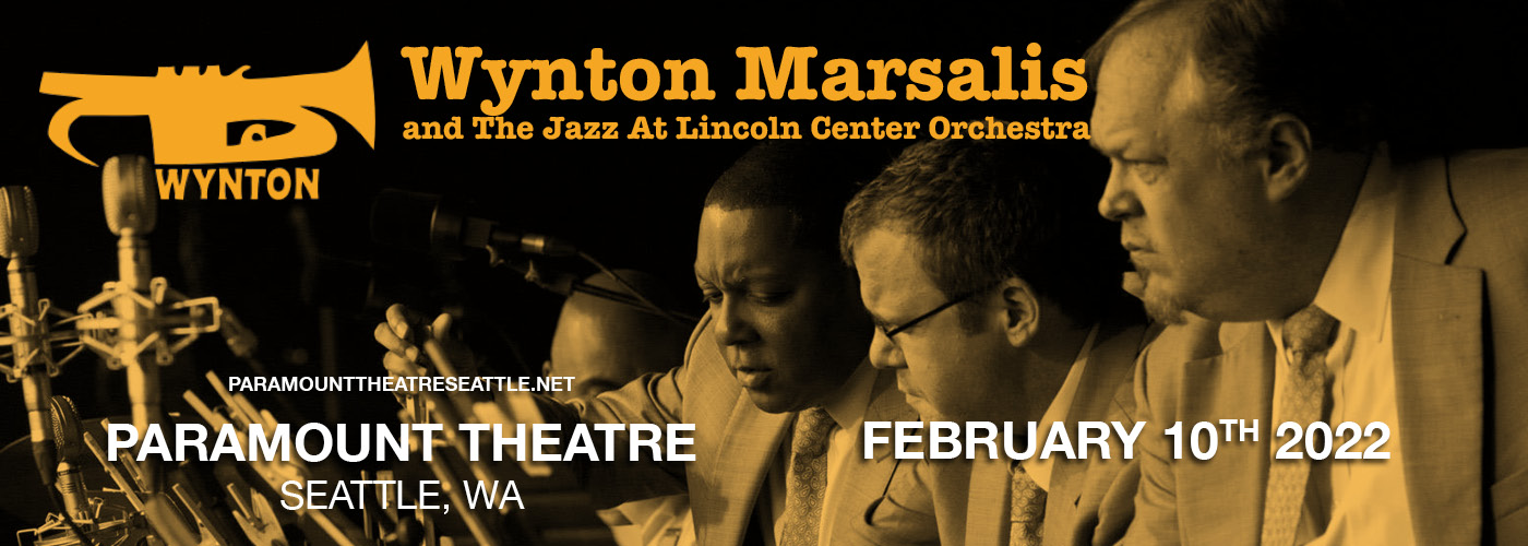 Wynton Marsalis and The Jazz At Lincoln Center Orchestra at Paramount Theatre Seattle