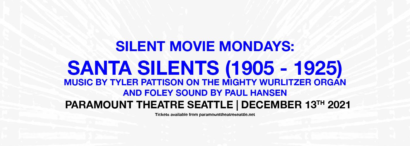 Silent Movie Mondays: Santa Silents at Paramount Theatre Seattle