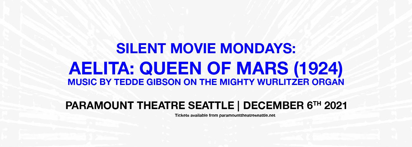 Silent Movie Mondays: Aelita Queen of Mars at Paramount Theatre Seattle