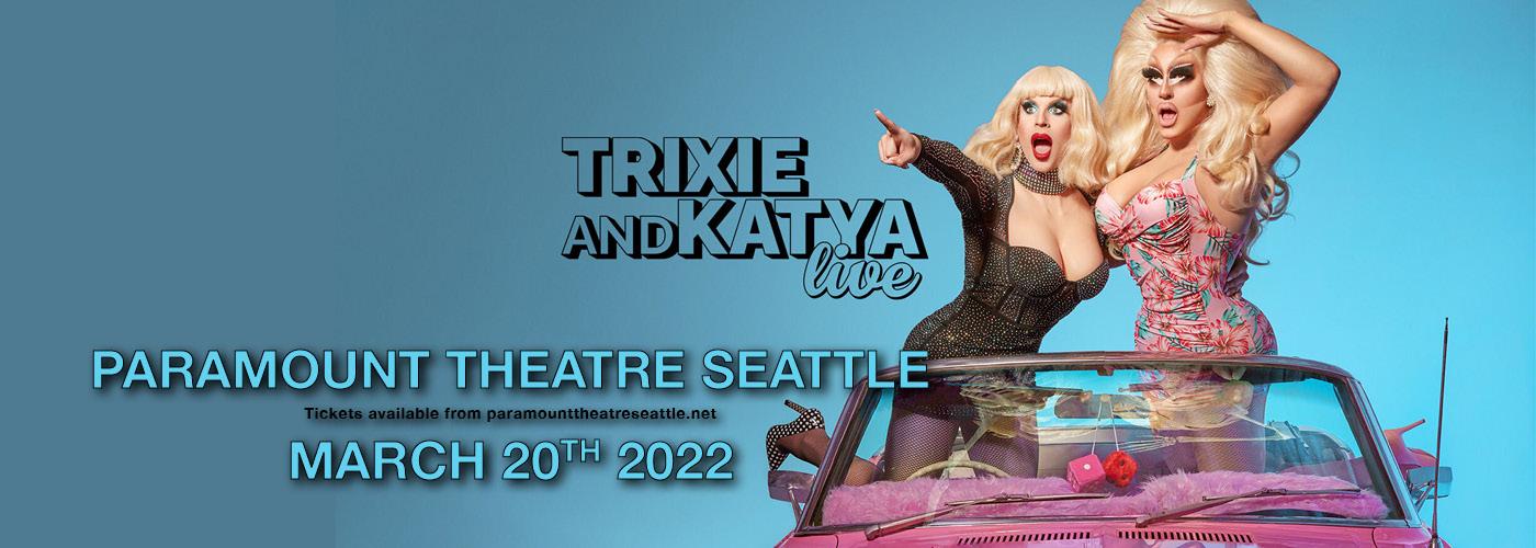 Trixie & Katya at Paramount Theatre Seattle