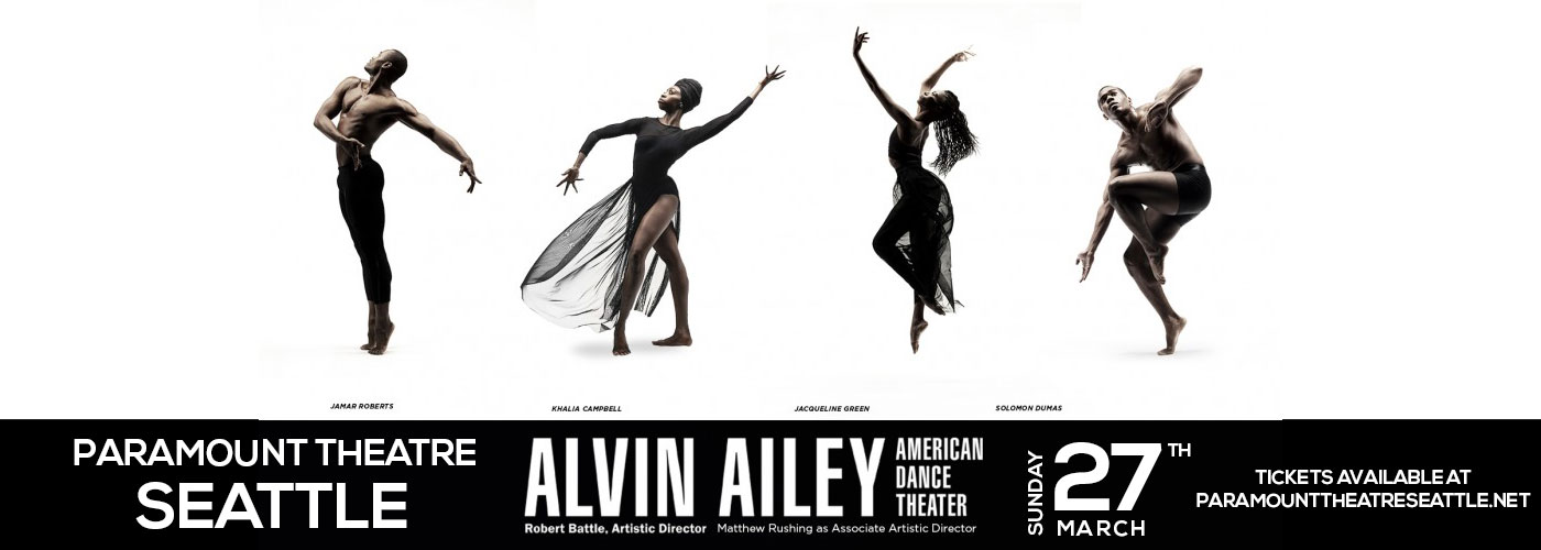 Alvin Ailey American Dance Theater at Paramount Theatre Seattle