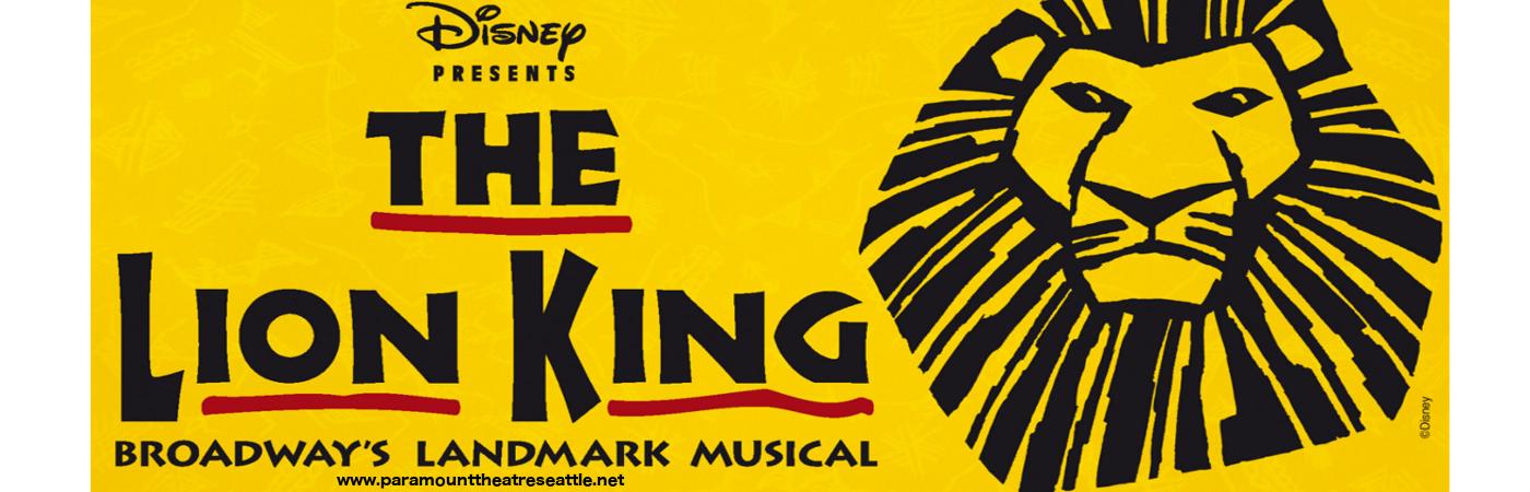 lion king paramount theatre seattle