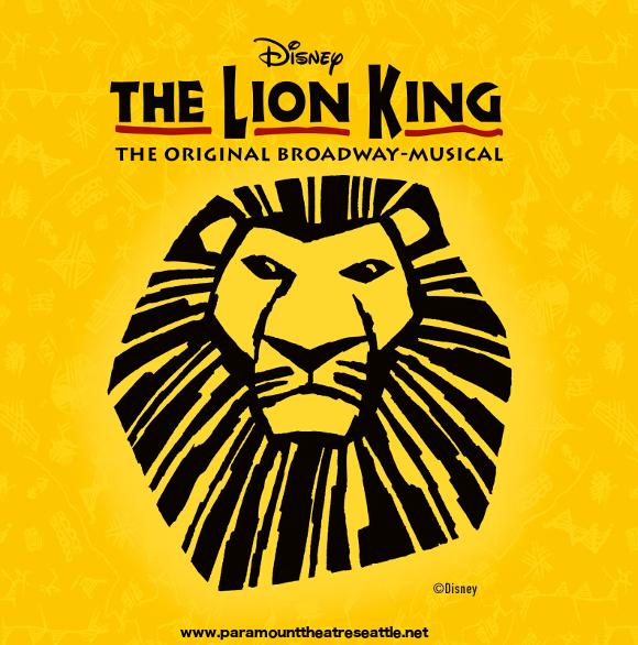 lion king musical paramount theater seattle
