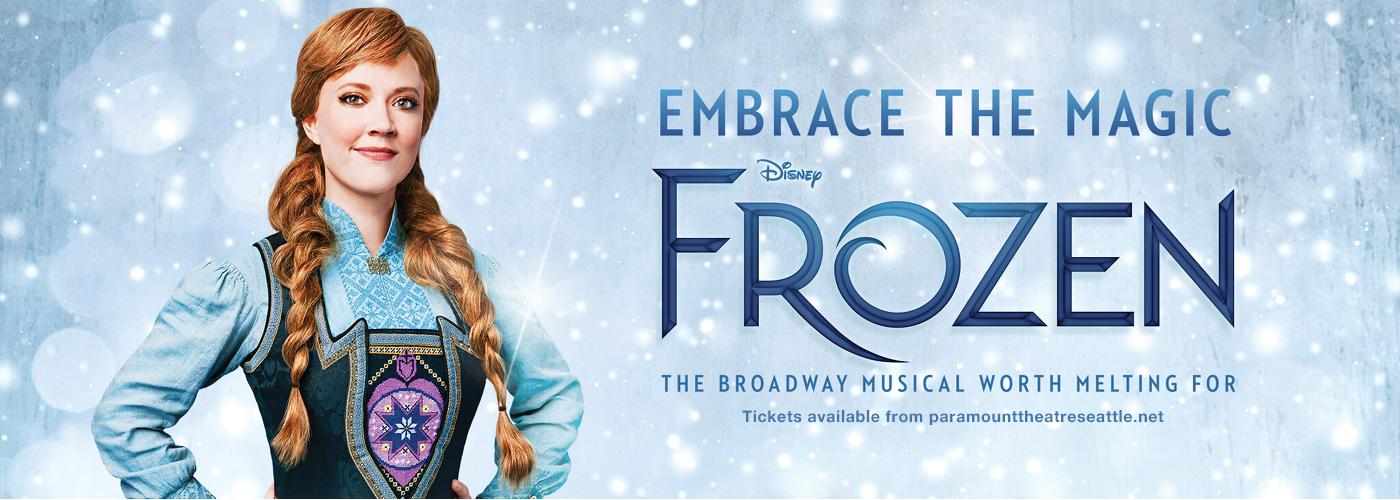 frozen tickets seattle