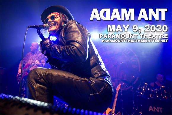 Adam Ant [POSTPONED] at Paramount Theatre Seattle