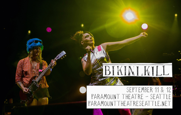Bikini Kill [CANCELLED] at Paramount Theatre Seattle