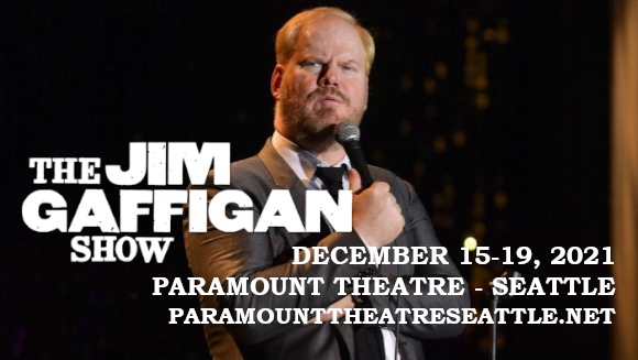 Jim Gaffigan at Paramount Theatre Seattle