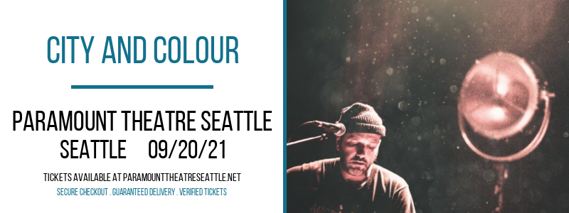 City and Colour at Paramount Theatre Seattle